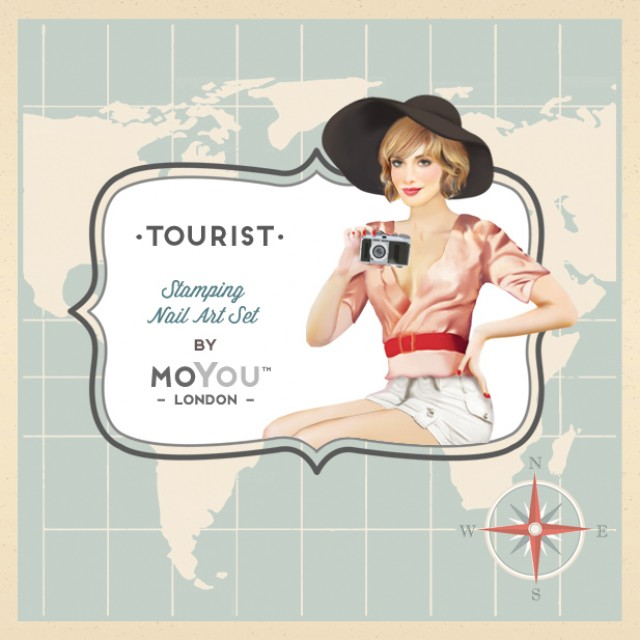 пластины для стемпинга MoYou-London Tourist