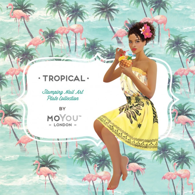 пластины для стемпинга MoYou-London Tropical