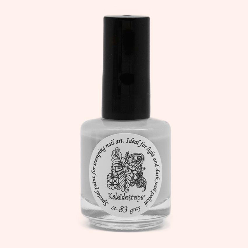 EL Corazon Kaleidoscope Special paint for stamping nail art st-83 gray купить