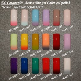 EL Corazon Termo ctive Bio-gel Color gel polish, ������� �����
