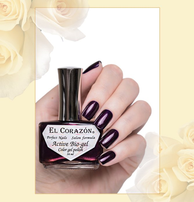 EL Corazon Active Bio-gel Nail Party №423/624