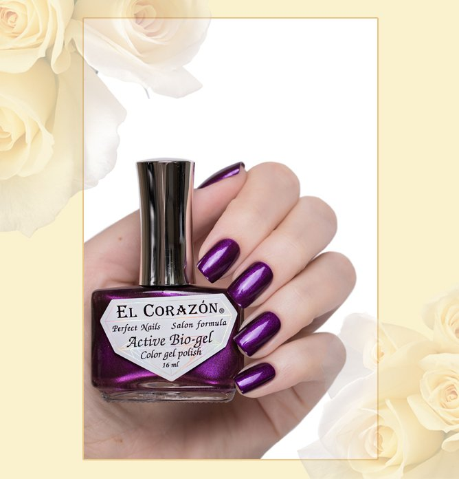 EL Corazon Active Bio-gel Nail Party №423/628