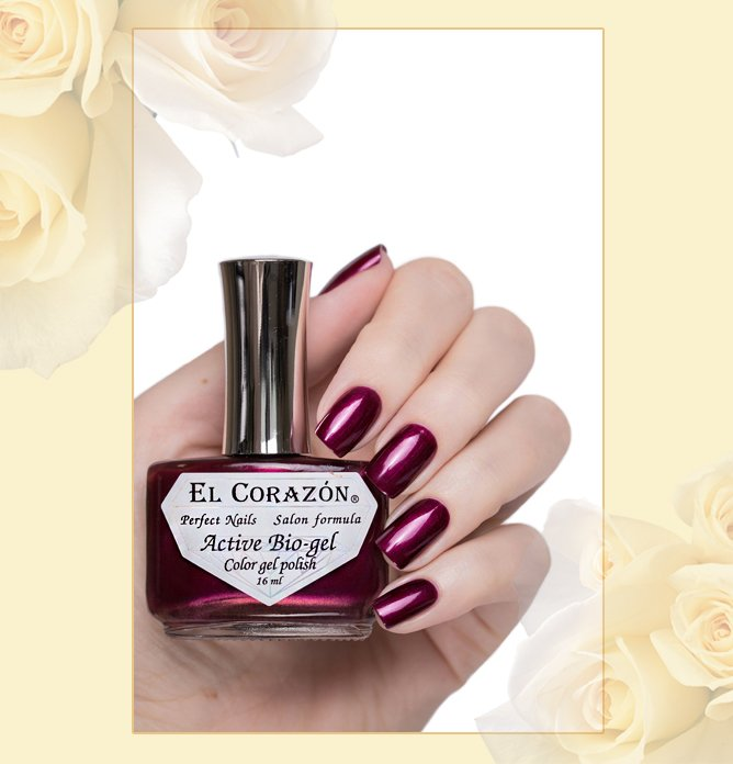 EL Corazon Active Bio-gel Nail Party №423/629