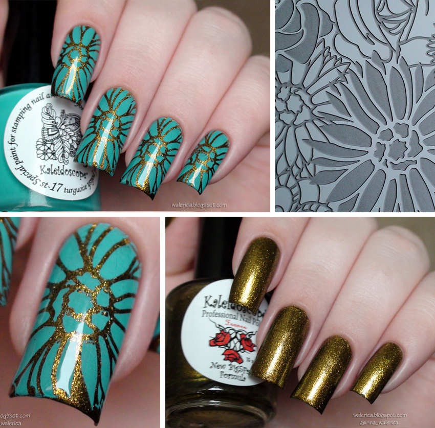 EL Corazon Kaleidoscope Special paint for stamping nail art №st-17
