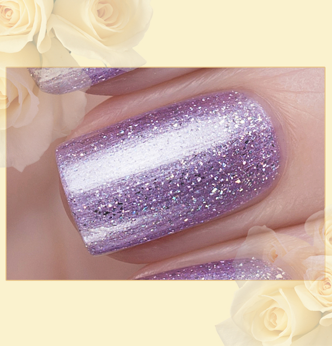 423/464 Gemstones: Lepidolite Active Bio-gel Color gel polish EL Corazon Эль Коразон Самоцветы