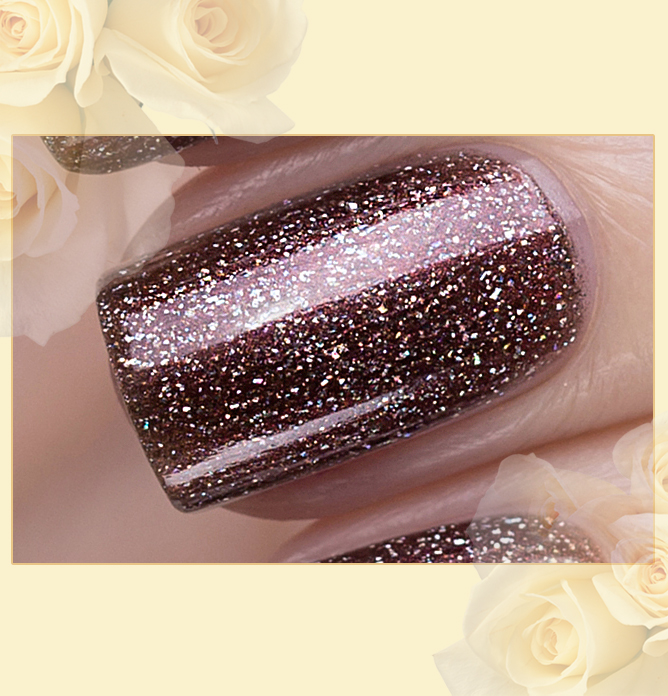 423/470 Gemstones: Rauchtopaz Active Bio-gel Color gel polish EL Corazon Эль Коразон Самоцветы