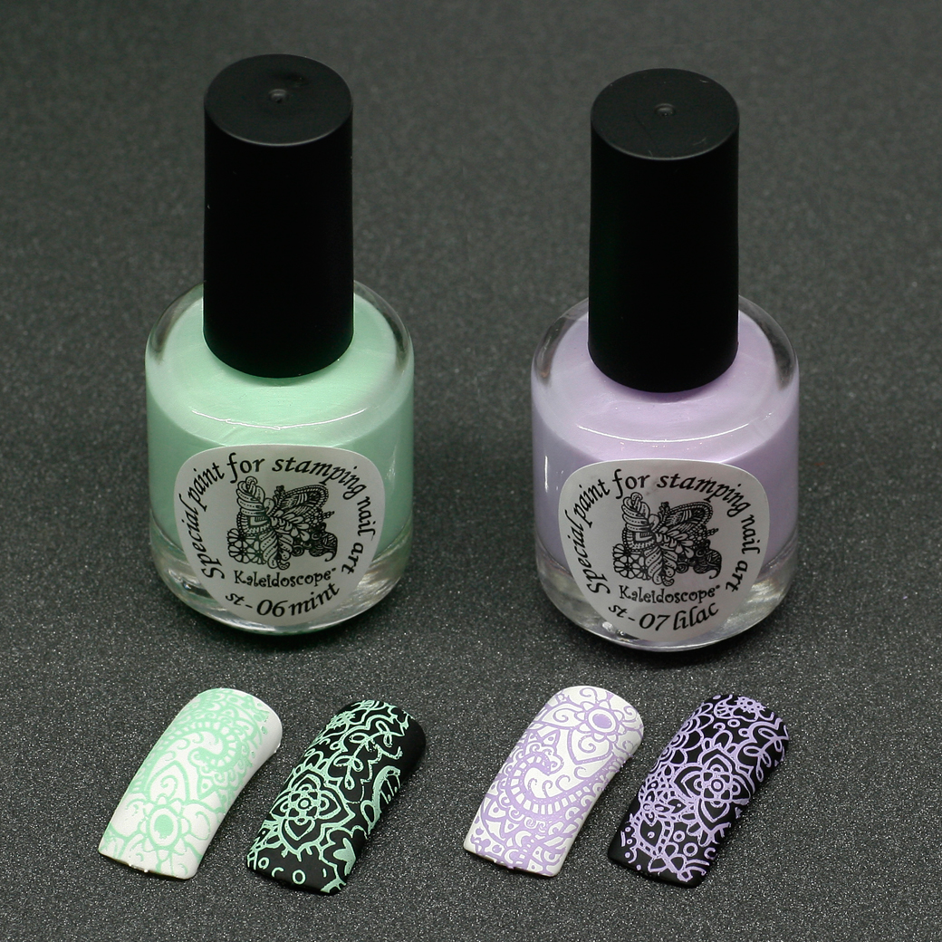EL Corazon Kaleidoscope Special paint for stamping nail art 