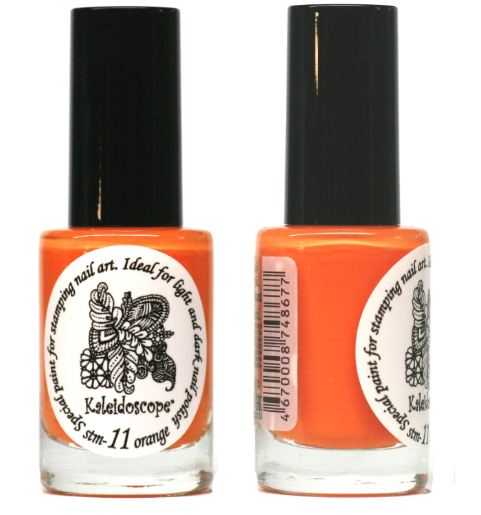 EL Corazon - Kaleidoscope Special paint for stamping nail art №Stm-11 orange