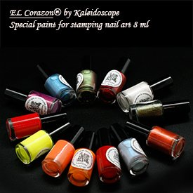Kaleidoscope EL Corazon Special paint for stamping nail art