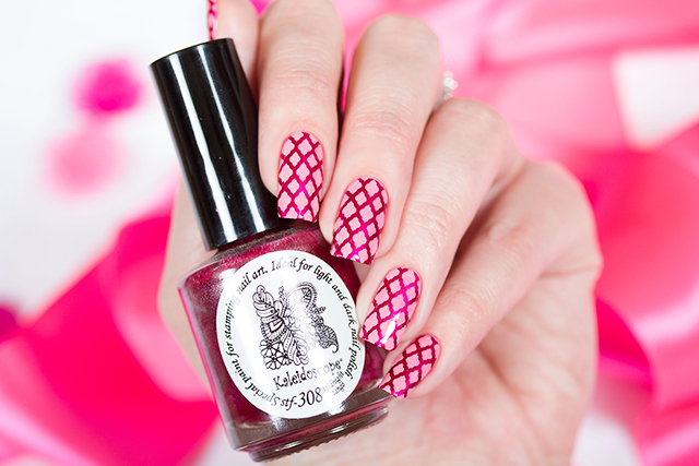 EL Corazon Kaleidoscope Special paint for stamping nail art Stf-304