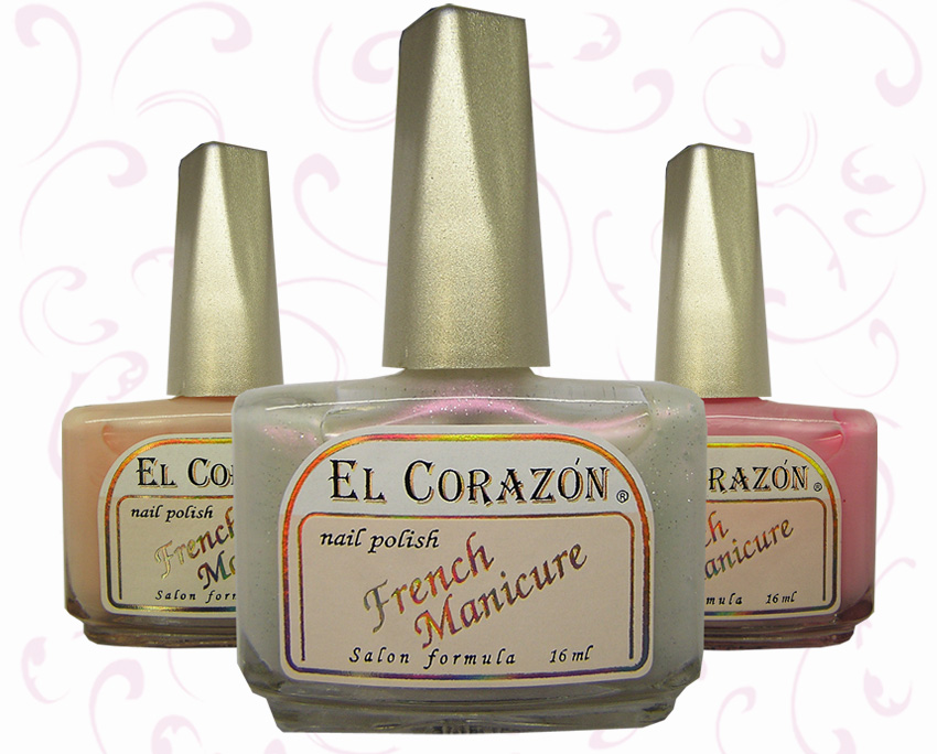 EL Corazon French Manicure, френч маникюр