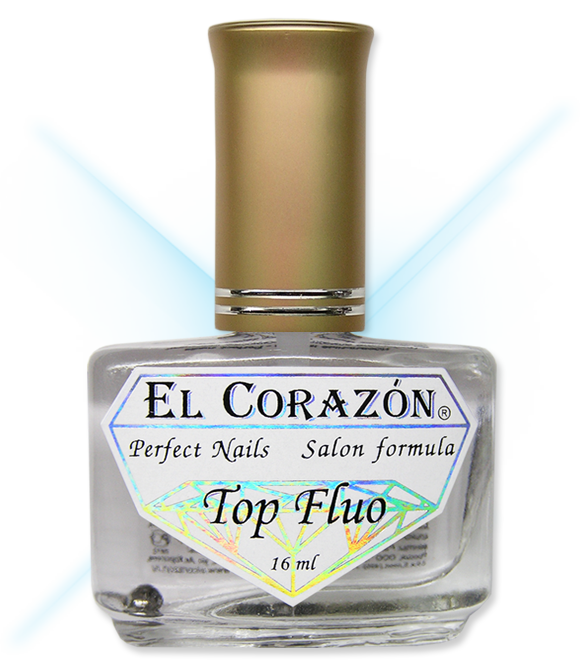 №411 Top Fluo EL Corazon
