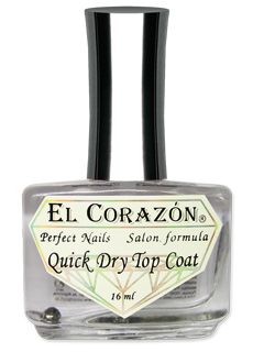 EL Corazon Perfect Nails 417 Quick Dry Top Coat - Быстрая сушка
