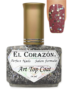 EL Corazon 421-17 (Holiday confetti)  Art Top Coat