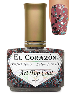 EL Corazon 421-18 ( I'm so different)   Art Top Coat