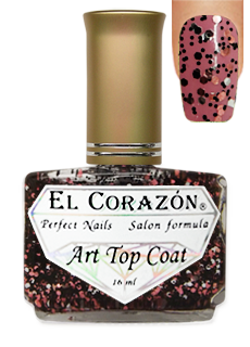 EL Corazon 421-19 (Pomegranate grains)  Art Top Coat