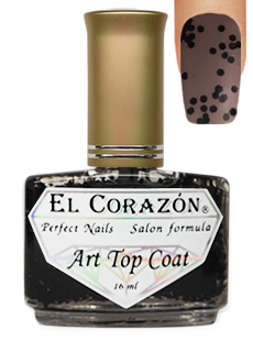 EL Corazon 421-7 black doty  Art Top Coat