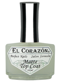EL Corazon 430 Matte Top Coat - матовый Иней