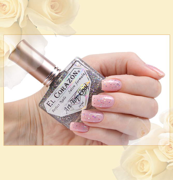 El Corazon Art Top Coat №421-14 (Winter: sunny day)