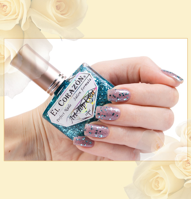 El Corazon Art Top Coat №421-15 (Cinderella's first ball)