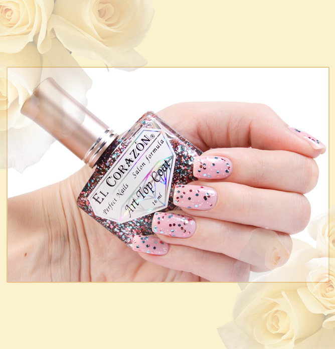 El Corazon Art Top Coat №421-18 (I'm so different)