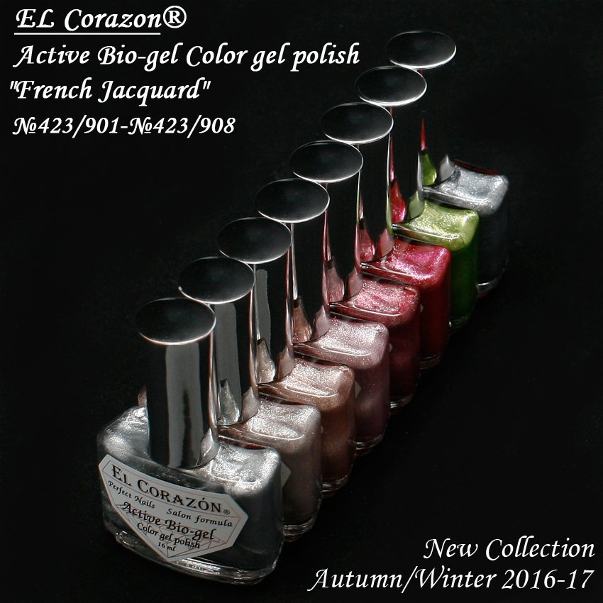 EL Corazon Active Bio-gel Color gel polish, биогель Эль Коразон