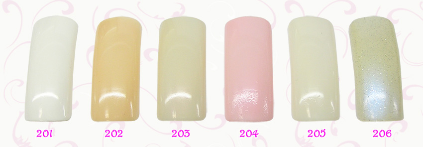 EL Corazon French Manicure  201(белый),202,203,204,205,206
