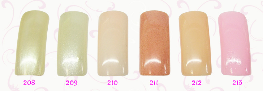 EL Corazon French Manicure  208,209,210,211,212,213